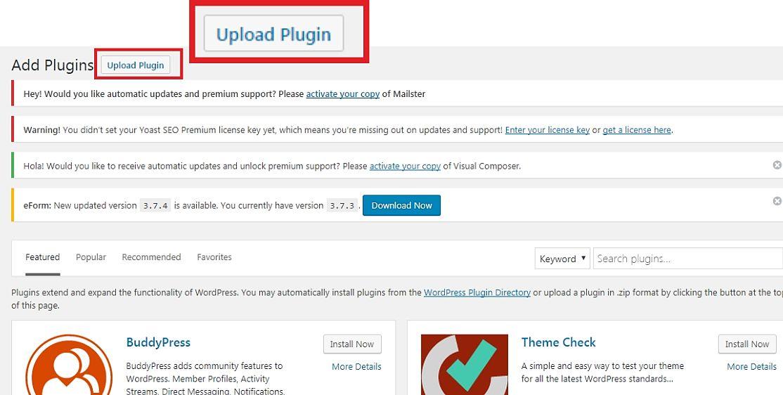 Uppload_button_inside_wordpres