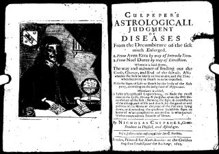 Nicholas Culpepper - Astrological judgment of diseases.pdf