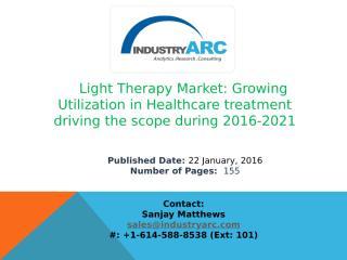 Light Therapy Market Analysisis.pptx
