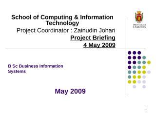 FYP Briefing May 2009.ppt