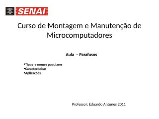 Aula 8 - Parafusos.ppt