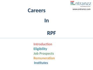 106.Careers In RPF.pptx