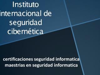 Donde estudiar seguridad informatica.pdf