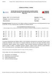 6Avaliação Contínua - Questões de Múltipla Escolha - Banco de Itens de Avaliação da Secretaria de Educação de Minas Gerais.pdf