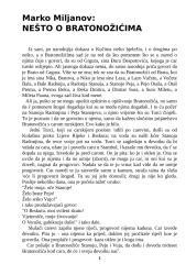 Marko Miljanov - NEŠTO O BRATONOŽIĆIMA.doc