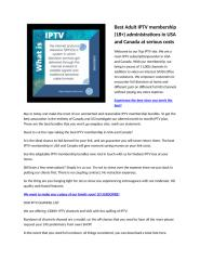 Best Adult IPTV membership (3).docx