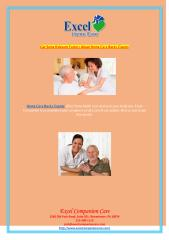 Get Some Relevant Factors About Home Care Bucks County.pdf