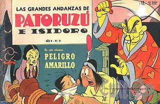 Andanzas Patoruzu N° 54 -Peligro amarillo.cbr