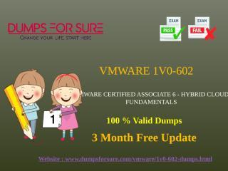 VMware 1V0-602 Dumps.pptx