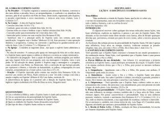 Discipulado I Lição 09 - O discipulo e Espirito Santo.docx