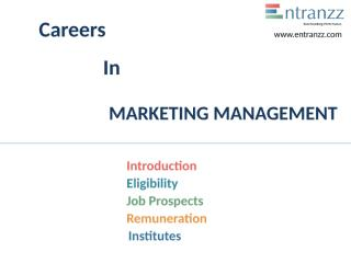 79.Careers In MARKETING MANAGEMENT.pptx