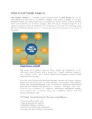 SAP Simple Finance Online Training Course Pune PPT.ppt