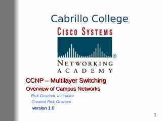 1..overview of campus networks.ppt