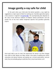Image gently x-ray safe for child_ImageGently.pdf
