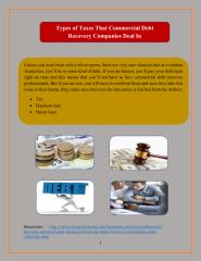 Types of Taxes That Commercial Debt Recovery Companies Deal In.pdf