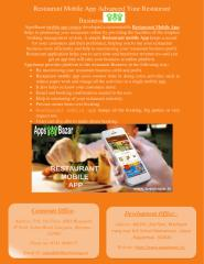 Restaurant Mobile App Advanced Your Restaurant Business.pdf