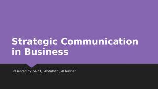 SCT 011.5 Strategic Communication in Business F1.pptx